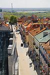 Panorama Sandomierza z Bramy Opatowskiej, Polska<br /> Panorama of Sandomierz from Opatowska Gate in Sandomierz, Poland