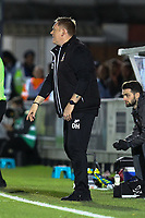 Bradford City manager David Hopkin during AFC Wimbledon vs Bradford City, Sky Bet EFL League 1 Football at the Cherry Red Records Stadium on 2nd October 2018