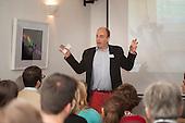 Professor Charles Spence, Kitchen Theory seminar, Maida Hill Place.