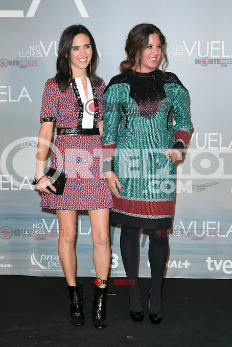 Jennifer Connelly and Claudia Llosa attends Claudia&acute;s Llosa &quot;No Llores Vuela&quot; movie premiere at Callao Cinema, Madrid,  Spain. January 21, 2015.(ALTERPHOTOS/)Carlos Dafonte) /NortePhoto<br /> NortePhoto.com
