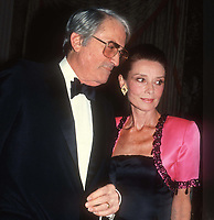 Gregory Peck Audrey Hepburn 1982<br /> Photo By John Barrett/PHOTOlink.net