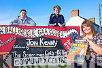 COMEDY NIGHT: Members of Ballyheigue GAA Club which is hosting a fundraiser with comedian Jon Kenny, l-r: Tommy O'Connor, Kevin O'Mahony, Eimear O'Mahony.
