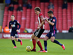 Sander Berge of Sheffield Utd and Andrew Surman of Bournemouth during the Premier League match at Bramall Lane, Sheffield. Picture date: 9th February 2020. Picture credit should read: Simon Bellis/Sportimage