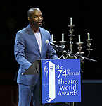 Rodney Hicks during the 74th Annual Theatre World Awards at Circle in the Square on June 4, 2018 in New York City.