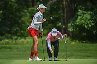 Nelly Korda (USA) sinks her putt on 1 during round 1 of the U.S. Women's Open Championship, Shoal Creek Country Club, at Birmingham, Alabama, USA. 5/31/2018.<br /> Picture: Golffile | Ken Murray<br /> <br /> All photo usage must carry mandatory copyright credit (&copy; Golffile | Ken Murray)