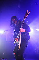 LONDON, ENGLAND - FEBRUARY 11: Michael Amott of 'Arch Enemy' performing at KOKO on February 11, 2018 in London, England.<br /> CAP/MAR<br /> &copy;MAR/Capital Pictures