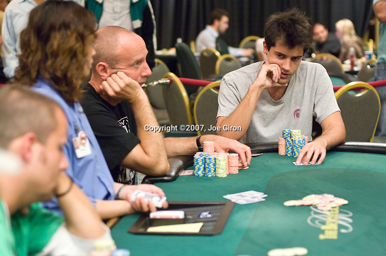 Adam Geyer ponders a decision.