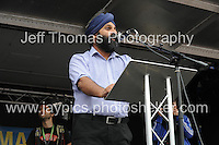 Peoples March for the NHS - Central London, Saturday 6th Sept 2014 - <br /> <br /> A Doctor who supported the NHS rally<br /> <br /> <br /> <br /> <br /> Photographer: Jeff Thomas - Jeff Thomas Photography - 07837 386244/07837 216676 - www.jaypics.photoshelter.com - swansea1001@hotmail.co.uk