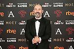 Actor Javier Camara attends 30th Goya Awards red carpet in Madrid, Spain. February 06, 2016. (ALTERPHOTOS/Victor Blanco)