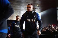 Zach Mercer and the rest of the Bath Rugby team arrive at the Stade Ernest Wallon. Heineken Champions Cup match, between Stade Toulousain and Bath Rugby on January 20, 2019 at the Stade Ernest Wallon in Toulouse, France. Photo by: Patrick Khachfe / Onside Images