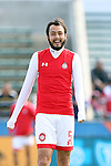 26 March 2016: Toluca's Christian Perez (MEX). The Carolina RailHawks of the North American Soccer League hosted Deportivo Toluca Futbol Club of LigaMX at WakeMed Stadium in Cary, North Carolina in an international friendly club soccer match. Toluca won the game 3-0.
