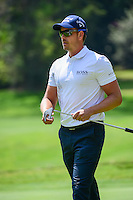 Henrik Stenson (SWE) after sinking his putt on 1 during round 1 of the World Golf Championships, Mexico, Club De Golf Chapultepec, Mexico City, Mexico. 3/2/2017.<br /> Picture: Golffile | Ken Murray<br /> <br /> <br /> All photo usage must carry mandatory copyright credit (&copy; Golffile | Ken Murray)
