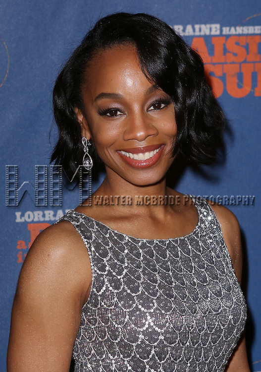 "Anika Noni Rose attends the Broadway Opening Night After Party for  ""A Raisin In The Sun"" at Tribeca Rooftop on April 3, 2014 in New York City."