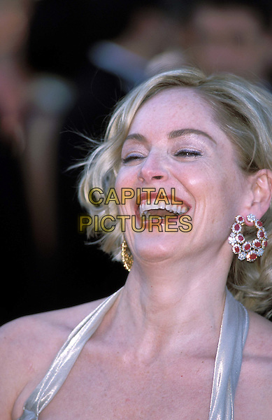 SHARON STONE.Cannes Film Festival.Ref: 11726.headshot, portrait, laughing, smiling.www.capitalpictures.com.sales@capitalpictures.com.©Capital Pictures