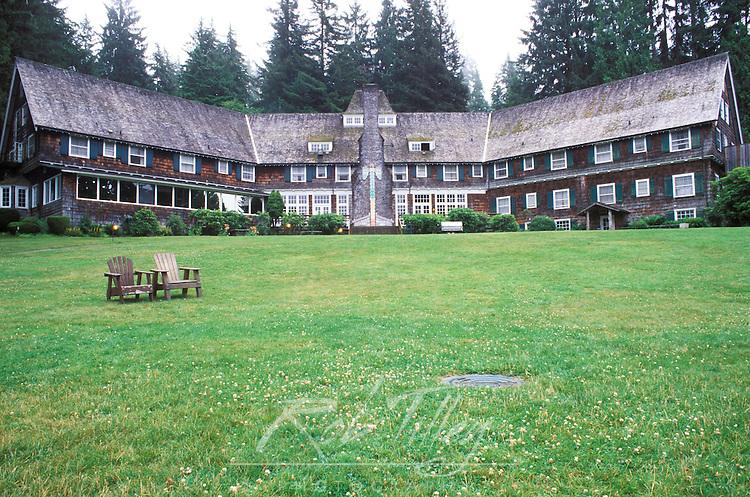 Lake Quinault Lodge, Olympic NP, WA, USA