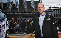 77th Flèche Wallonne 2013..Christian Prudhomme