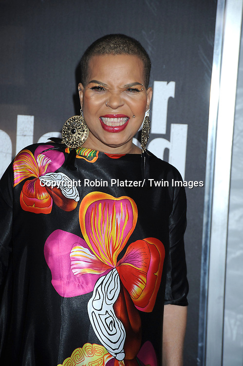 "author Ntozake Shange attending The New York Special Screening.of ""For Colored Girls"" at The Ziegfeld Theatre on October 25, 2010 in New York City"