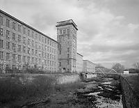 Baltic Mill ruin, Baltic, CT granite (burned, now demolished)