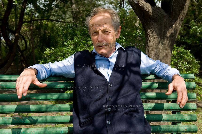 Lo scrittore Erri De Luca