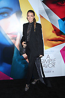 September 10, 2018  Blake Lively attend  LionsGate presents the World Premiere of A Simple Favor  at the Museum of Modern Art in New York September 10,  <br /> CAP/MPI/RW<br /> &copy;RW/MPI/Capital Pictures