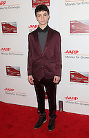 06 February 2017 - Beverly Hills, California - Lucas Jade Zumann. AARP 16th Annual Movies For Grownups Awards held at the Beverly Wilshire Four Seasons Hotel. Photo Credit: F. Sadou/AdMedia
