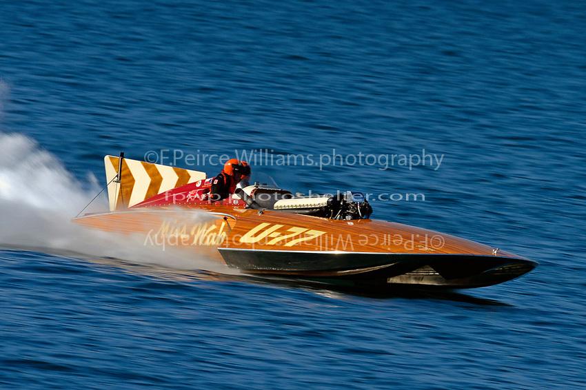 """U-77 """"Miss Wahoo"""" (Replica of the vintage 1956 hull built in 2009)"""