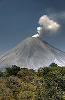 Volcan de Colima, Mexico (Color)