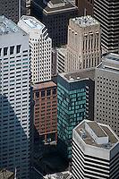 aerial photograph Shell Building 100 Bush Street San Francisco