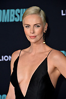 """LOS ANGELES, USA. December 11, 2019: Charlize Theron at the premiere of """"Bombshell"""" at the Regency Village Theatre.<br /> Picture: Paul Smith/Featureflash"""