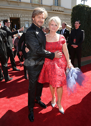 PASADENA, CA - April 30: Mary Beth Evans, Stephen Nichols, At 44th Annual Daytime Emmy Awards Roaming At The Pasadena Civic Auditorium In California on April 30, 2017. Credit: FS/MediaPunch