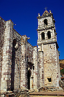 The 18th-century Church of San Jose in the old Spanish colonial mining town of Copala near Mazatlan, Sinaloa, Mexico..