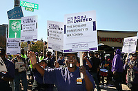 141027 SEIU 32BJ Howard Univ Rally
