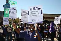 141027 SEIU 32BJ Howard Univ Rally
