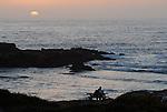 Sunset at Pescadero State Beach