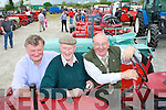 VINTAGE: Checking out the vintage tractors during the Kingdom County Fair at Ballybeggan on Sunday were l-r: John O'Connor (Currow), Johnny Egan (Ardfert) and John Burke (Killarney).    Copyright Kerry's Eye 2008
