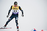 HOLMENKOLLEN, OSLO, NORWAY - March 16: Taylor Fletcher of USA during the cross country 15 km (2 x 7.5 km) competition at the FIS Nordic Combined World Cup on March 16, 2013 in Oslo, Norway. (Photo by Dirk Markgraf)