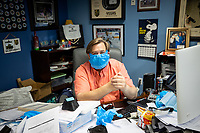 MAR 26 Las Vegas business coverts to produce safety wear for Covid 19 pandemic