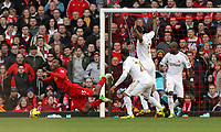 2013 02 17 Liverpool v Swansea City, Anfield Stadium, Liverpool, UK.