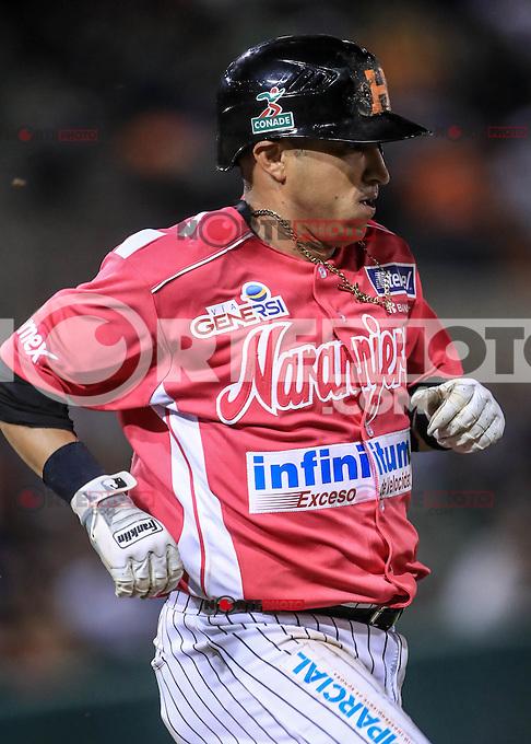 Carlos Gastelum de Naranjeros , durante el partido2 de beisbol entre Naranjeros de Hermosillo vs Yaquis de Obregon. Temporada 2016 2017 de la Liga Mexicana del Pacifico.<br /> &copy; Foto: LuisGutierrez/NORTEPHOTO.COM