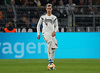 Robin Koch (Deutschland Germany) - 09.10.2019: Deutschland vs. Argentinien, Signal Iduna Park, Freunschaftsspiel<br /> DISCLAIMER: DFB regulations prohibit any use of photographs as image sequences and/or quasi-video.