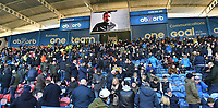 Ex Huddersfield Town Manager sends a half time message to the fans <br /> <br /> Photographer Dave Howarth/CameraSport<br /> <br /> The Premier League - Huddersfield Town v Manchester City - Sunday 20th January 2019 - John Smith's Stadium - Huddersfield<br /> <br /> World Copyright © 2019 CameraSport. All rights reserved. 43 Linden Ave. Countesthorpe. Leicester. England. LE8 5PG - Tel: +44 (0) 116 277 4147 - admin@camerasport.com - www.camerasport.com