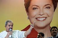 ATENÇÃO EDITOR: FOTO EMBARGADA PARA VEÍCULOS INTERNACIONAIS. SAO PAULO, 11 DE SETEMBRO DE 2012 - ELEICOES 2012 HADDAD - o ex presidente Luis Inacio Lula da Silva durante Plenaria com Sindicalistas com o candidato Fernando Haddad (PT), na quadra dos bancarios, regiao central da capital na tarde desta terca feira. FOTO: ALEXANDRE MOREIRA - BRAZIL PHOTO PRESS