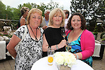 ISPS Handa Wales Open 2012.Terry M's Restaurant Opening.Elaine Ward, Lorna Giles & Vicky Ward..01.06.12.©Steve Pope