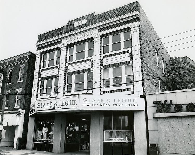 UNDATED..Conservation.Church Street..Stark & Legum Store.Attucks Theatre...NEG#.NRHA#..