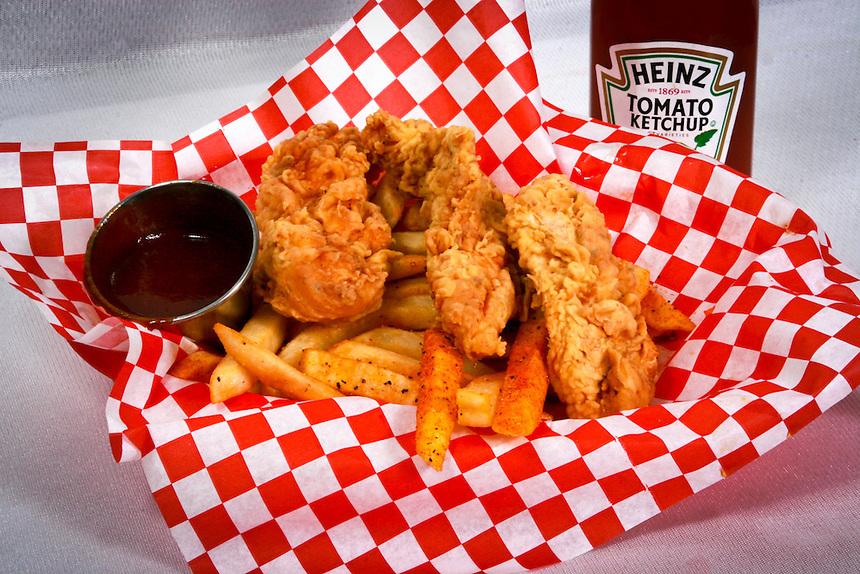 AAP/AJ ALEXANDER- Food Product Shot. LoLo's Chicken n Waffels.<br /> Photo by AJ Alexander