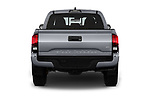 Straight rear view of a 2018 Toyota Tacoma TRD Sport Double Cab 4 Door Pick Up stock images