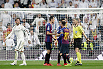 Real Madrid CF's Sergio Ramos and FC Barcelona's Leo Messi during La Liga match. March 02,2019. (ALTERPHOTOS/Alconada)