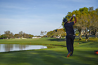 Phil Mickelson (USA) watches his tee shot on 12 during round 2 of the Arnold Palmer Invitational at Bay Hill Golf Club, Bay Hill, Florida. 3/8/2019.<br /> Picture: Golffile | Ken Murray<br /> <br /> <br /> All photo usage must carry mandatory copyright credit (&copy; Golffile | Ken Murray)