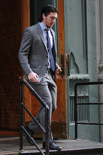 WWW.ACEPIXS.COM<br /> May 29, 2015 New York City<br /> <br /> Ryan McDonagh, captain of the NY Rangers hockey team heads to game 7 of the playoffs at Madison Square Garden in New York City on May 29, 2015.<br /> <br /> By Line: Kristin Callahan/ACE Pictures<br /> <br /> Tel: 646 769 0430<br /> Email: info@acepixs.com<br /> www.acepixs.com