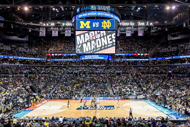 Mar. 18, 2016; 2016 NCAA Tournament first round. (Photo by Matt Cashore/University of Notre Dame)